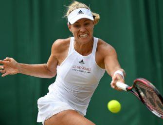 Wimbledon: Kerber kämpft sich ins Achtelfinale