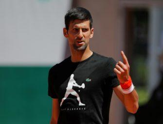 Djokovic nach Nadal-Krimi erst am Dienstag im Einsatz