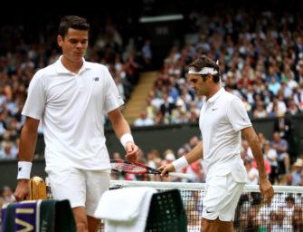 Wimbledon: Viertelfinaltag bei den Herren