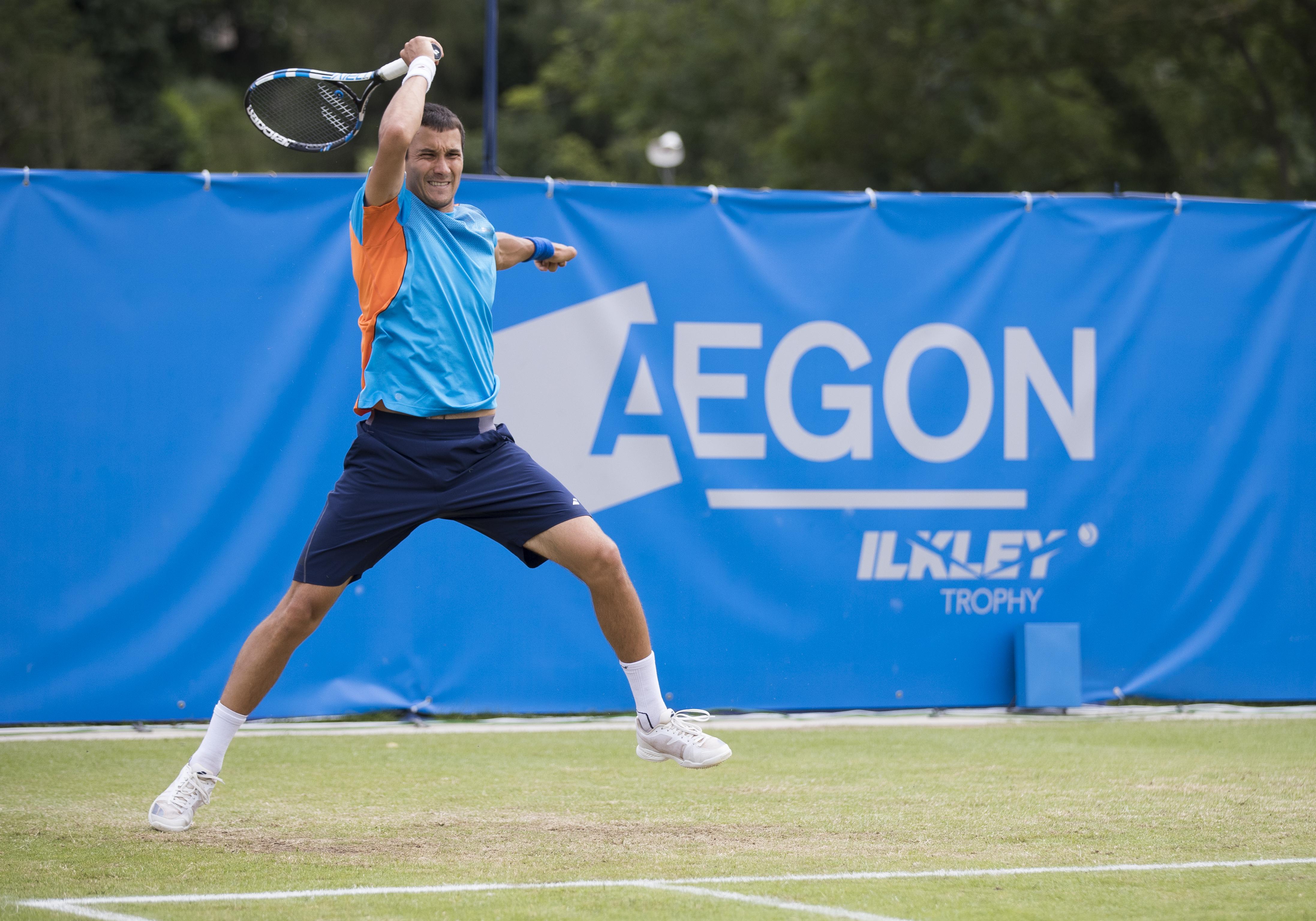Der Russe Evgeny Donskoy trifft in der ersten Runde auf deutschlands Topspieler Alexander Zverev.