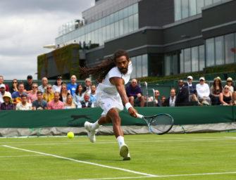 Mail aus Wimbledon: Die große Dustin Brown-Show