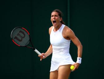 Podcast aus Wimbledon, Tag 1: Dramatik bei den deutschen Damen