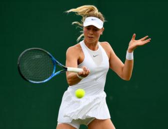Podcast aus Wimbledon, Tag 3: Kraftakt von Carina Witthöft