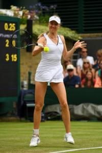 Aus in zwei Sätzen: Mona Barthel unterlag Coco Vandeweghe.