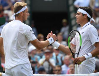 Wimbledon: Zverev in drei, Brands & Struff verlieren
