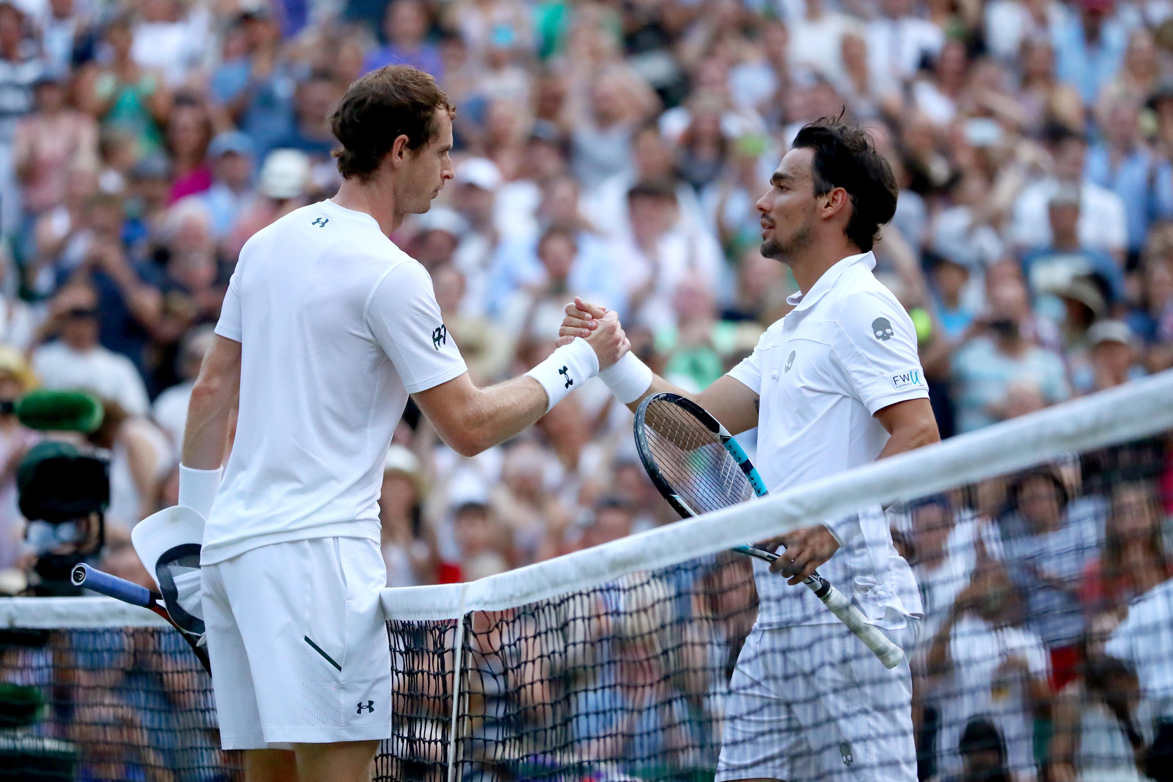 Der Italiener Fabio Fognini konnte Andy Murray den zweiten Satz abnehmen. Der Brite trifft in der vierten Runde auf Benoit Paire aus Frankreich.
