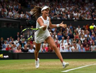 Podcast aus Wimbledon, Tag 8: Der Konter von Johanna Konta