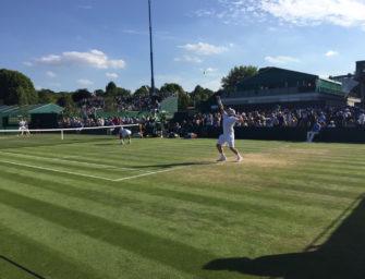 Mail aus Wimbledon: Marcus Willis ist wieder da
