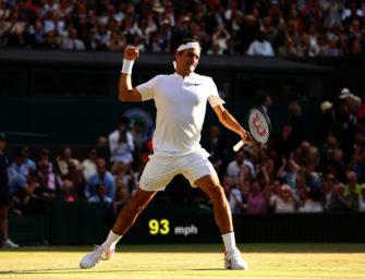 Podcast aus Wimbledon, Tag 9: Ist Roger Federer noch aufzuhalten?