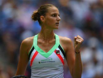 US Open: Topgesetzte Pliskova müht sich in dritte Runde