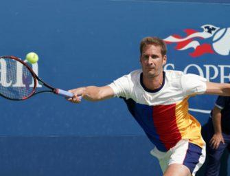 US Open: Mayer kämpft sich in zweite Runde