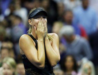 Rückkehrerin Sharapova sorgt für Überraschung – Sieg gegen Halep