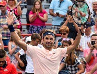 15. Sieg in Serie: Federer im Halbfinale von Montreal