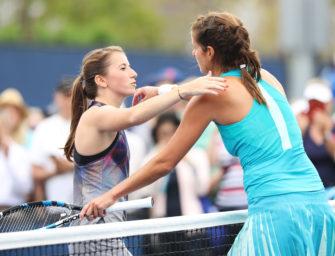 US Open: Görges dominiert Beck nach Belieben