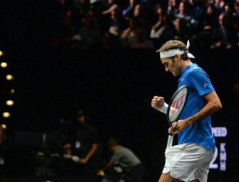 Laver Cup: Federer baut Europas Führung aus