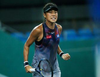 Tennis: Zhang gewinnt erneut WTA-Turnier in Guangzhou