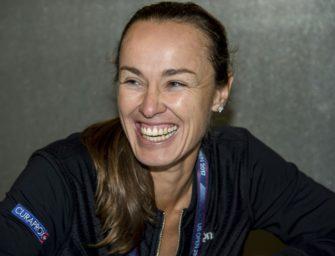 Gesicht der US Open: Martina Hingis (Schweiz)