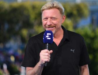 Boris Becker bleibt auch 2018 Eurosport-Experte