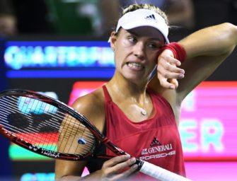 Kerber verpasst in Tokio ihr zweites WTA-Finale des Jahres