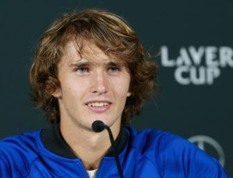 """Zverev zum Davis-Cup-Verzicht: """"Ich hätte sehr gerne gespielt"""""""