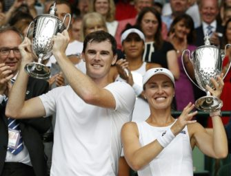 US Open: Mixed-Titel für Hingis und Murray