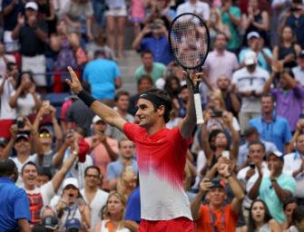 US Open: Kohlschreiber glatt, Federer wieder in 5