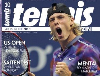 Tennis MAGAZIN 10/2017: Generation Power – Teenie-Sensation Shapovalov