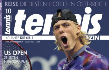 Tennis MAGAZIN 10/2017: Generation Power – Teenie-Sensation Shapovalov