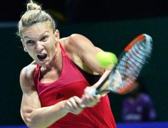 WTA-Finale: Halep feiert klaren Auftaktsieg