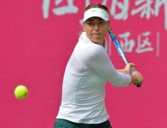 Scharapowa im Finale von Tianjin gegen Sabalenka