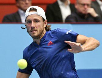 Französisches Finale: Pouille gewinnt ATP-Turnier in Wien