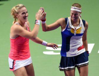WTA-Finale: Babos/Hlavackova gewinnen Doppel-Titel