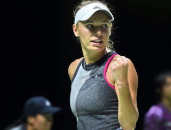 WTA-Finale: Wozniacki kämpft sich ins Endspiel
