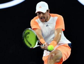 Tennis: Zverev im Viertelfinale von Stockholm, Struff ausgeschieden