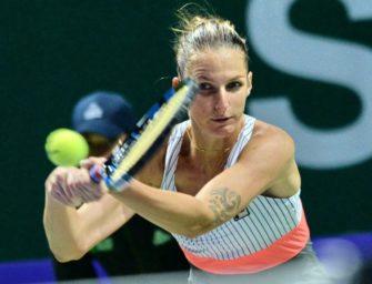 WTA-Finale: Pliskova besiegt Williams im Schnelldurchgang