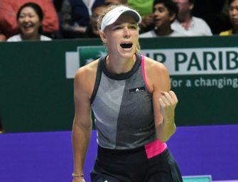 Wozniacki gewinnt erstmals das WTA-Finale