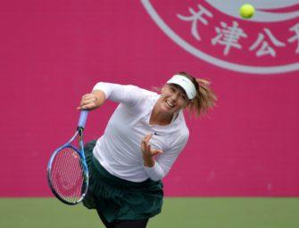 WTA in Tianjin: Scharapowa marschiert Richtung Finale