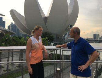 Serve & Drive: Tag 3 – Ein Treffen mit Anna-Lena Grönefeld