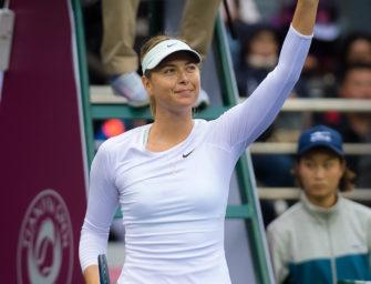Erster Titel nach Dopingsperre: Sharapova triumphiert in Tianjin