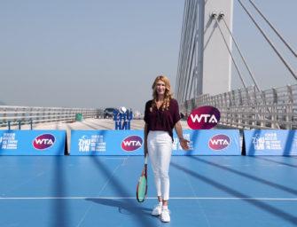 WTA Elite Trophy in Zhuhai: Steffi Graf als Brückenbauerin