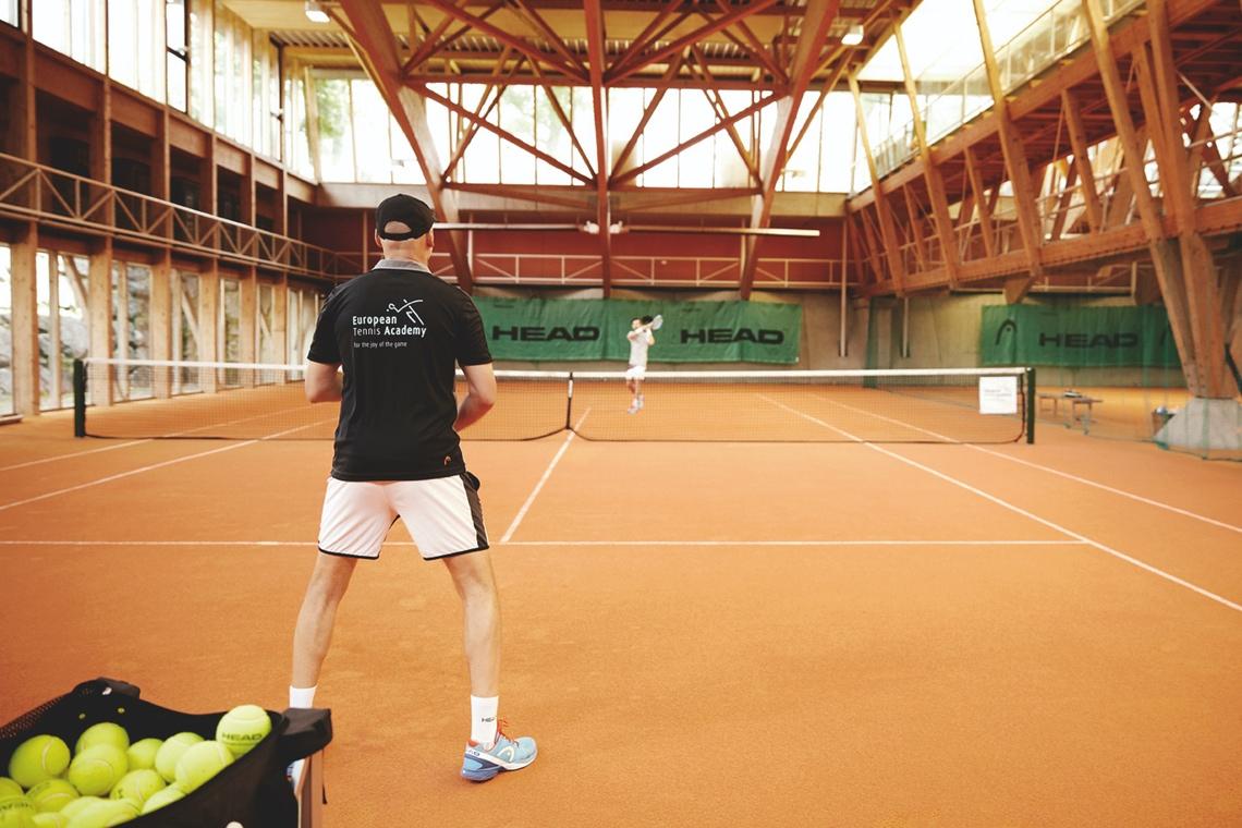 Tennis und Mentaltrainingskonzept im Hotel Post
