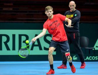 Davis-Cup-Finale: Belgien trotz Goffin nur Außenseiter gegen Frankreich