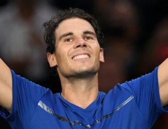 Nadal beendet die Saison als Nummer eins