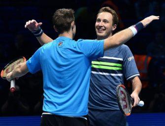 ATP-Finale in London: Kontinen/Peers verteidigen Titel