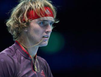 Weltrangliste: Zverev fällt auf Platz vier zurück