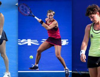 WTA-Tour: Die Absteigerinnen des Jahres 2017