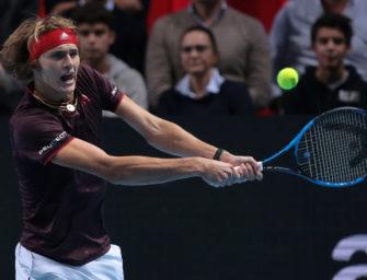 ATP-Finale: Zverev gegen Federer, Cilic und Sock