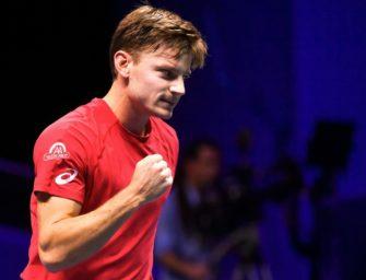 Davis Cup: Goffin bringt Belgien im Finale in Führung