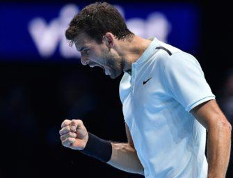 ATP-Finale: Dimitrov holt sich Titel mit Sieg über Goffin