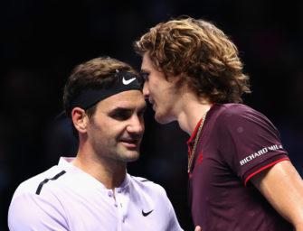 Mail aus London: Zverev – Noch ein Treffen mit Federer?